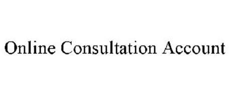 ONLINE CONSULTATION ACCOUNT