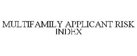 MULTIFAMILY APPLICANT RISK INDEX