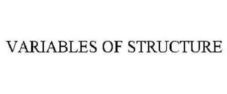 VARIABLES OF STRUCTURE