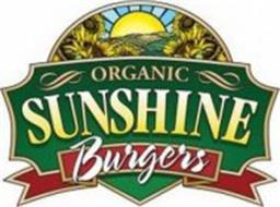 ORGANIC SUNSHINE BURGERS