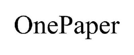 ONEPAPER