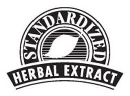 STANDARDIZED HERBAL EXTRACT