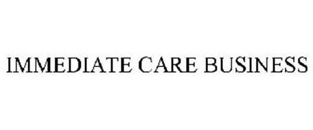 IMMEDIATE CARE BUSINESS