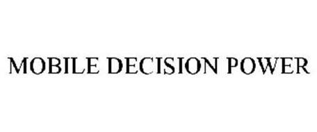 MOBILE DECISION POWER