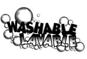WASHABLE LAVABLE