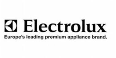 E ELECTROLUX EUROPE'S LEADING PREMIUM APPLIANCE BRAND.
