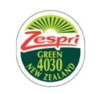 ZESPRI GREEN 4030 NEW ZEALAND