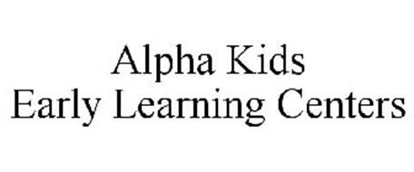 ALPHA KIDS EARLY LEARNING CENTERS