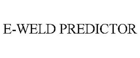 E-WELD PREDICTOR