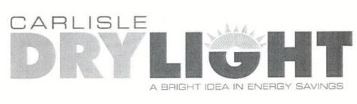 CARLISLE DRY LIGHT A BRIGHT IDEA IN ENERGY SAVINGS