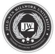 JELD-WEN MILLWORK UNIVERSITY JW TRAINING MILLWORK PROFESSIONALS