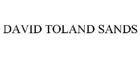 DAVID TOLAND SANDS