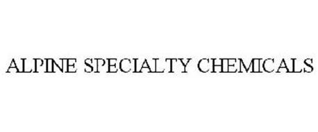 ALPINE SPECIALTY CHEMICALS