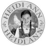 HEIDI ANN HEIDI ANN