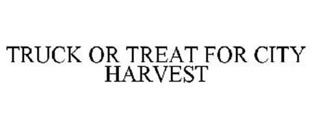 TRUCK OR TREAT FOR CITY HARVEST