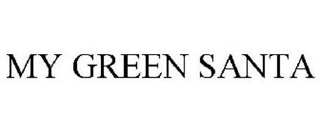MY GREEN SANTA