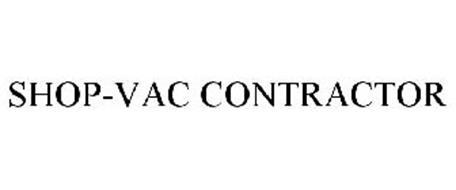 SHOP-VAC CONTRACTOR