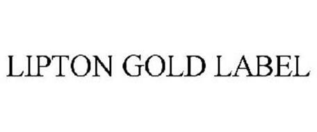 LIPTON GOLD LABEL
