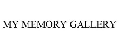 MY MEMORY GALLERY