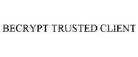 BECRYPT TRUSTED CLIENT