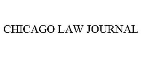 CHICAGO LAW JOURNAL