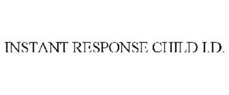 INSTANT RESPONSE CHILD I.D.