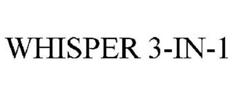 WHISPER 3N1