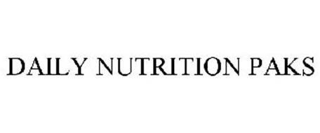 DAILY NUTRITION PAKS