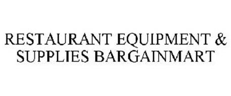 RESTAURANT EQUIPMENT & SUPPLIES BARGAINMART