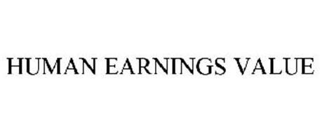 HUMAN EARNINGS VALUE