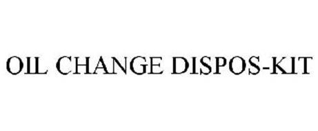 OIL CHANGE DISPOS-KIT
