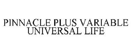 PINNACLE PLUS VARIABLE UNIVERSAL LIFE