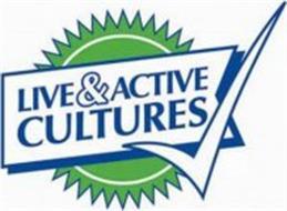 LIVE & ACTIVE CULTURES