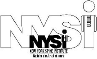 NYSI NYSI NEW YORK SPINE INSTITUTE MEDICAL SOLUTIONS FOR SPINE DISORDERS