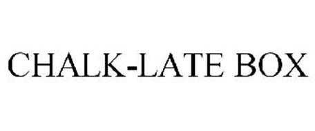 CHALK-LATE BOX
