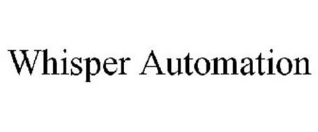 WHISPER AUTOMATION