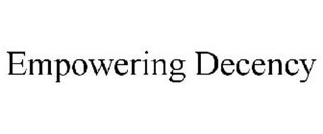 EMPOWERING DECENCY
