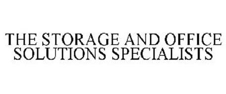 THE STORAGE AND OFFICE SOLUTION SPECIALISTS