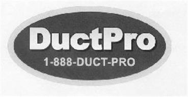 DUCTPRO 1-888-DUCT-PRO
