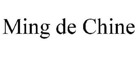 MING DE CHINE