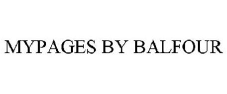 MYPAGES BY BALFOUR
