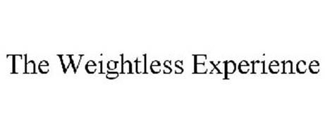 THE WEIGHTLESS EXPERIENCE