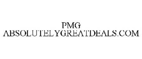 PMG ABSOLUTELYGREATDEALS.COM