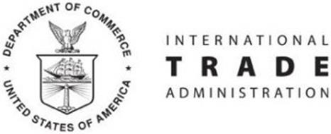 DEPARTMENT OF COMMERCE UNITED STATES OFAMERICA INTERNATIONAL TRADE ADMINISTRATION