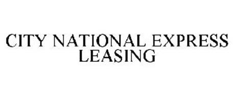 CITY NATIONAL EXPRESS LEASING