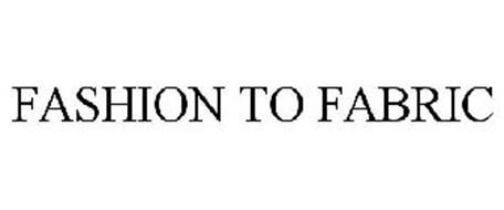 FASHION TO FABRIC