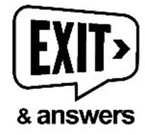 EXIT & ANSWERS