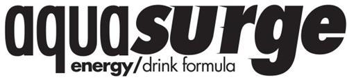 AQUASURGE ENERGY/DRINK FORMULA