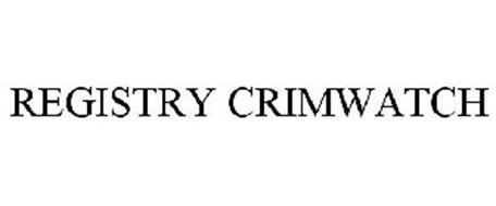 REGISTRY CRIMWATCH