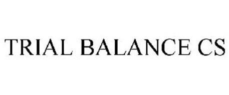 TRIAL BALANCE CS